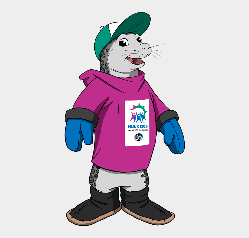 piggy bank clipart, Cartoons - The Icy Mascot Is The Right Face For Both The Bank - Arctic Winter Games