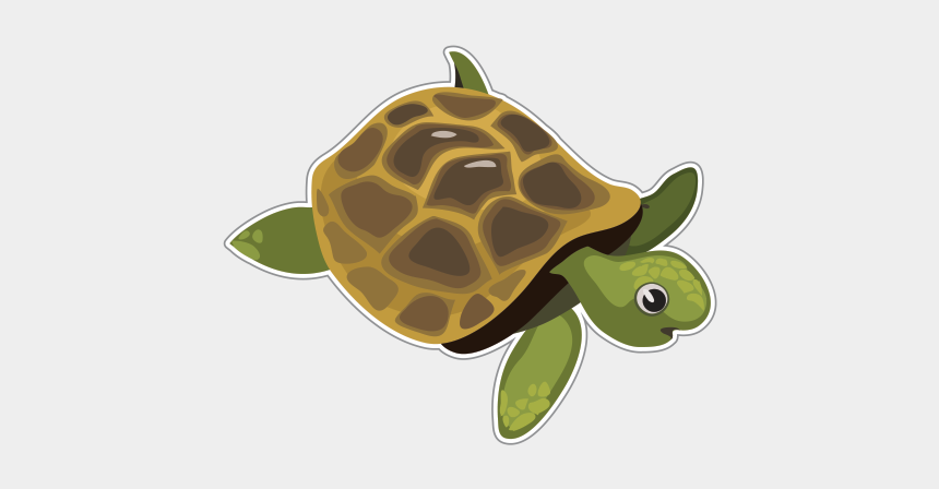 sea turtle clipart, Cartoons - Sea Turtle Clipart Vinyl - Green Sea Turtle