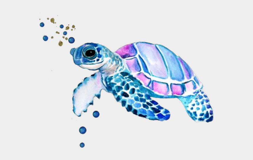 sea turtle clipart, Cartoons - Turtle Sticker - Watercolor Sea Turtle Tattoo