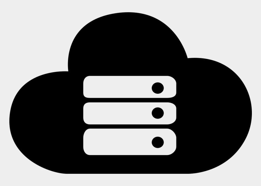 server clipart, Cartoons - Cloud Server Clipart Svg - Cloud Server Icon Png
