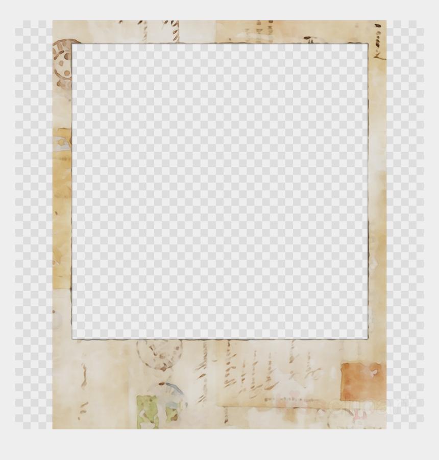 glitter frame clipart, Cartoons - Gold Square Frame Png