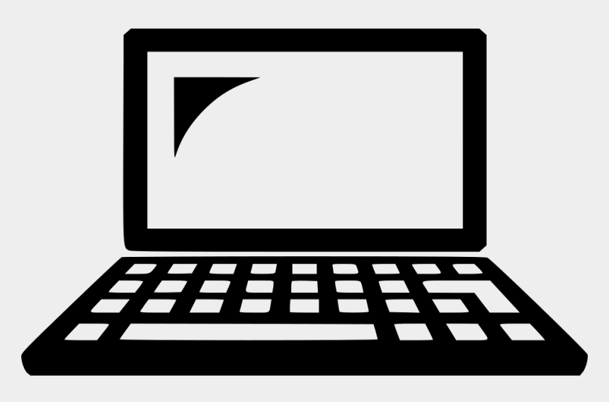 computer clip art png, Cartoons - Laptop Icon