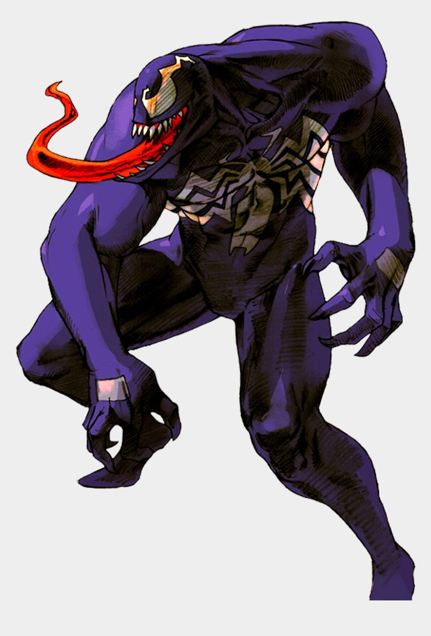 venom clip art, Cartoons - Marvel Vs Capcom Venom Png