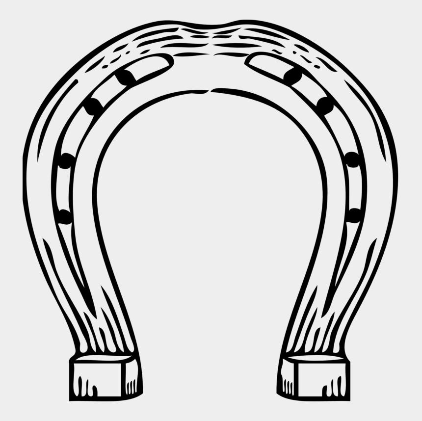 delaware clipart, Cartoons - Horse Shoe Line Art