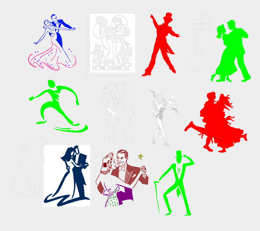 all that jazz clipart, Cartoons - Illustration