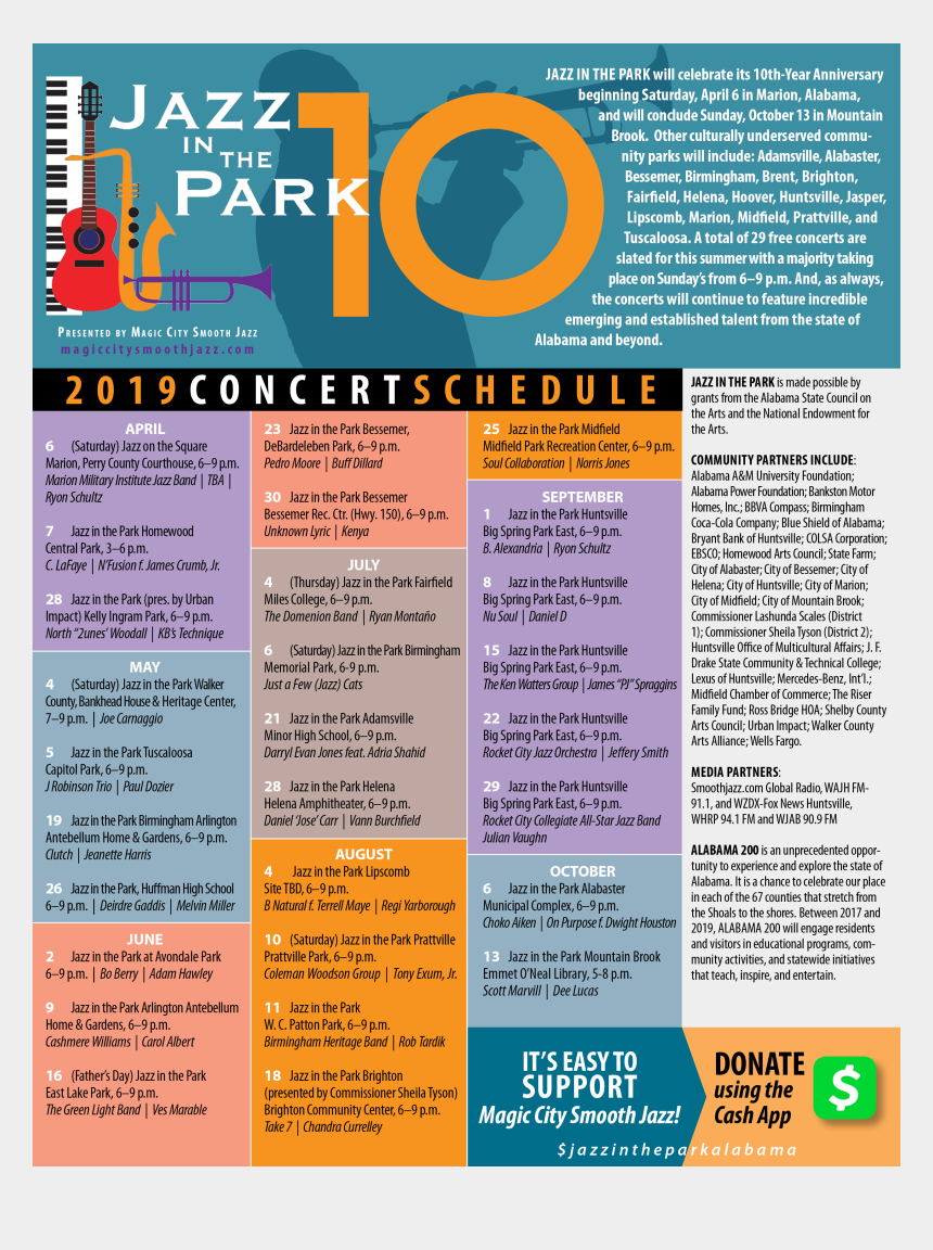 all that jazz clipart, Cartoons - Jazz In The Park 2019 Schedule