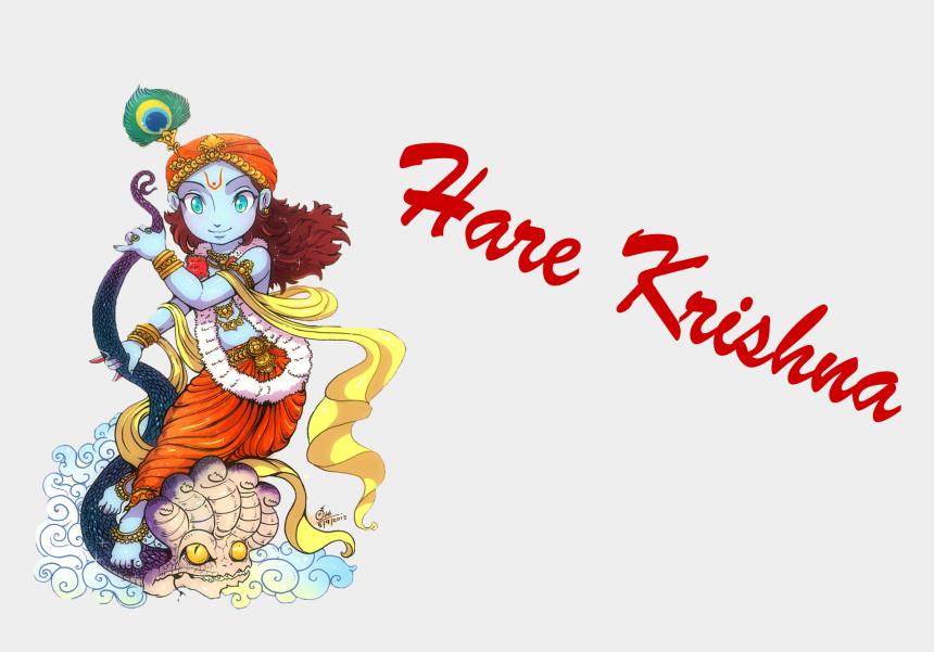 radhe krishna clipart, Cartoons - Hare Krishna Png