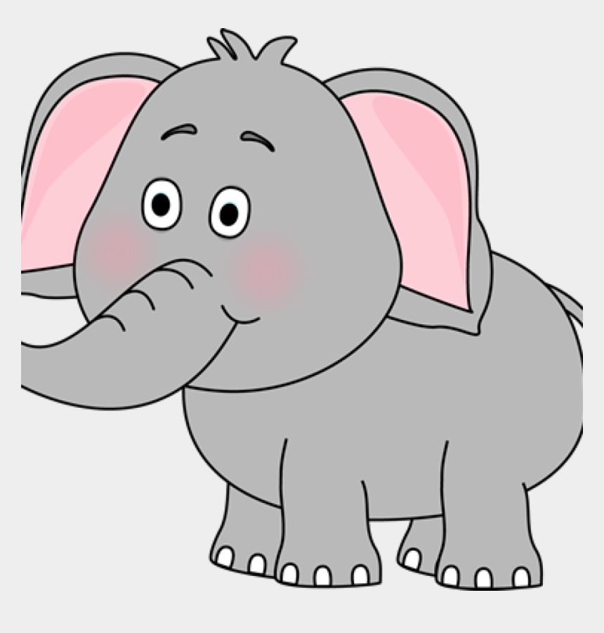 cute elephant clip art, Cartoons - Living Things Clip Art