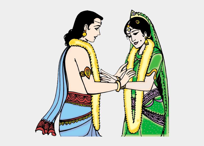 dussehra festival clipart, Cartoons - Hindu Wedding Colour Cliparts
