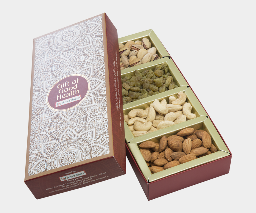 dry fruits clipart, Cartoons - Nuts And Spice Box