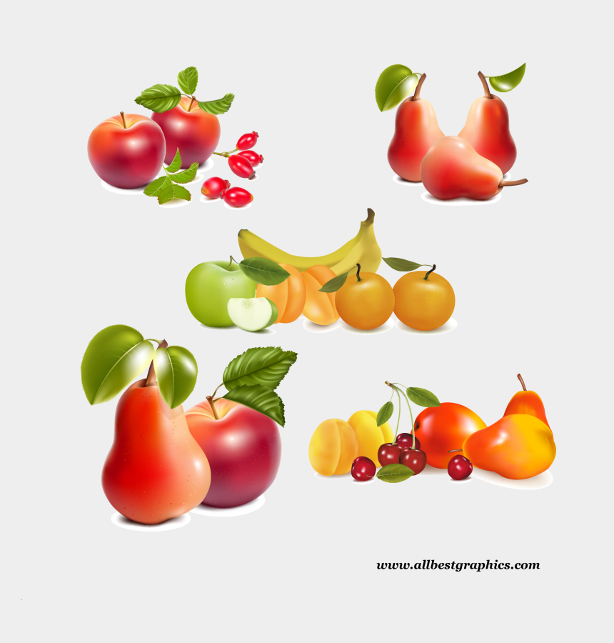 healthy food clipart png, Cartoons - Free Fruit Border Clipart
