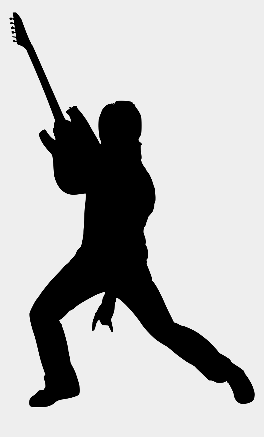 star silhouette clipart, Cartoons - Rock Star Silhouette Png
