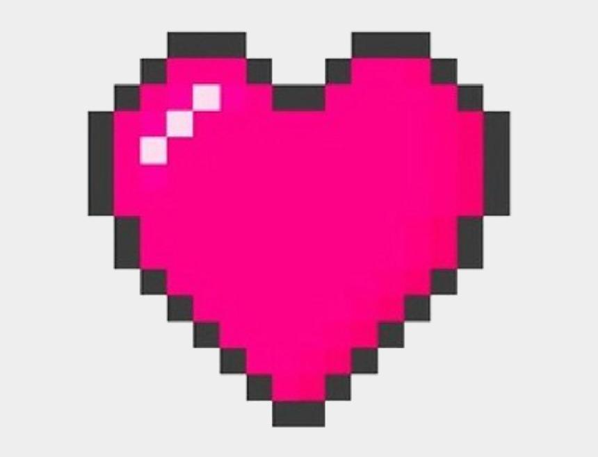 kpop clipart, Cartoons - Rainbow Heart Pixel Art
