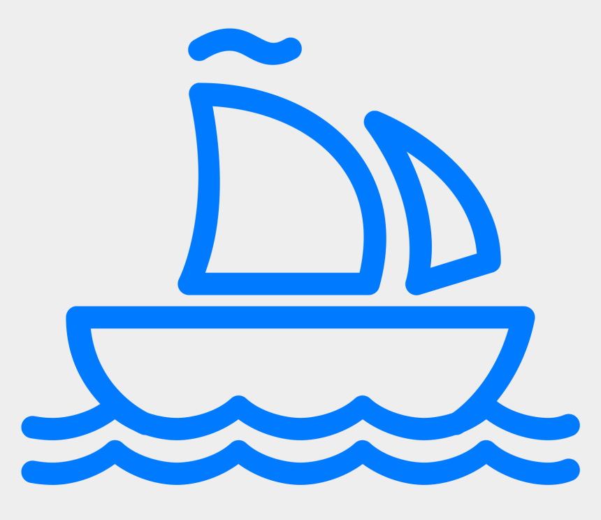 cruise ship clip art black and white, Cartoons - Boat Icon Png