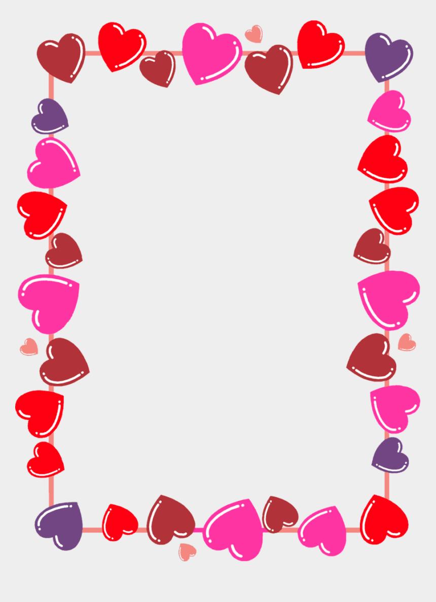 valentine s day hearts clip art, Cartoons - Valentines Borders Clip Art