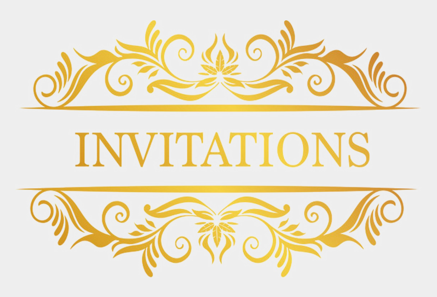 wedding card clipart free download, Cartoons - Invitation Logo Design Png