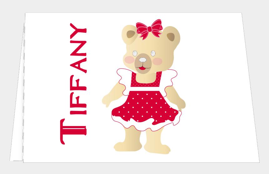 girl teddy bear clip art, Cartoons - Teddy Bear