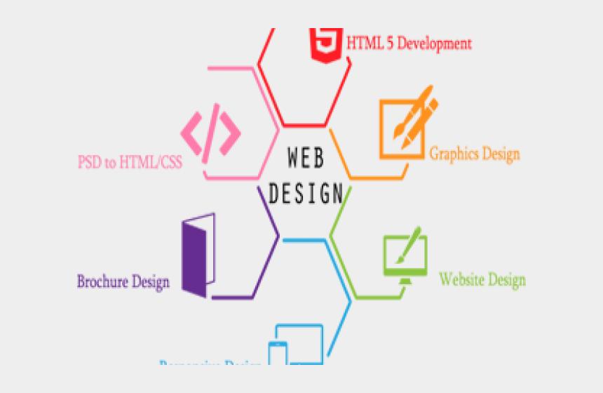 website clipart png, Cartoons - Web Design Services Png
