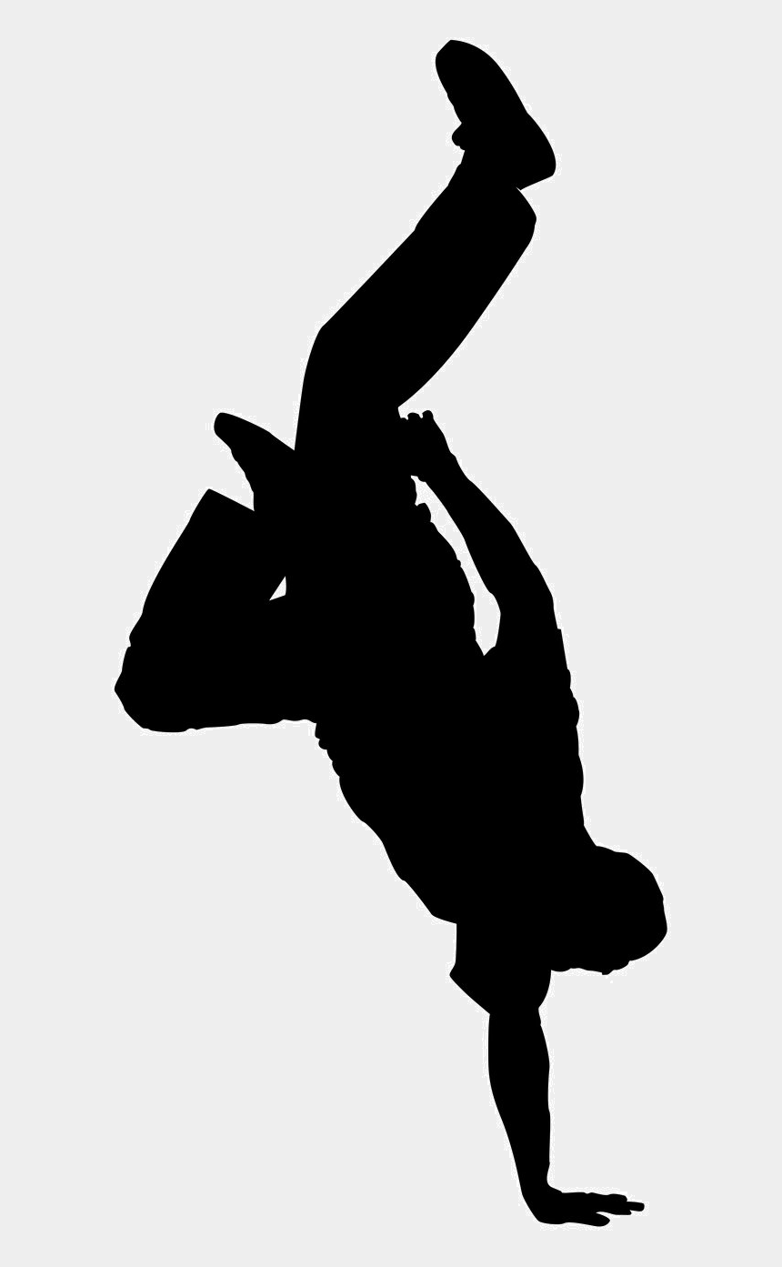 hip hop dance clip art, Cartoons - Modern Dance Silhouette Png