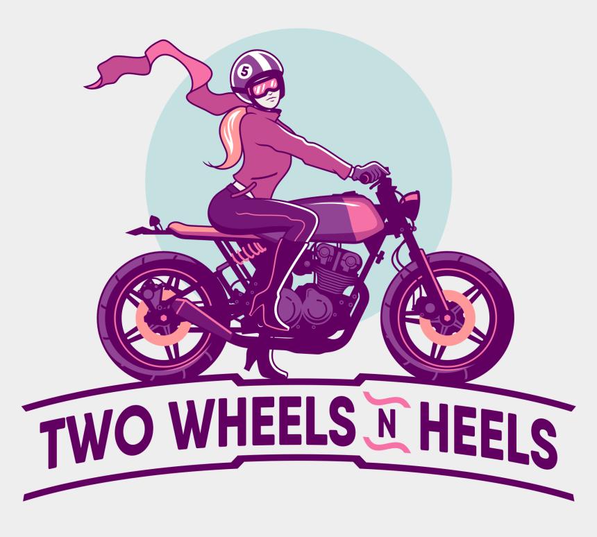 two wheeler clipart, Cartoons - Distinguished Gentlemans Ride Art