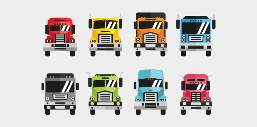 moving van clipart, Cartoons - Delivery Truck 3d Icon On Back Png