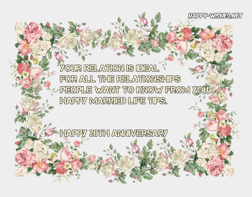 wedding anniversary clip art, Cartoons - Pink Flower Page Border