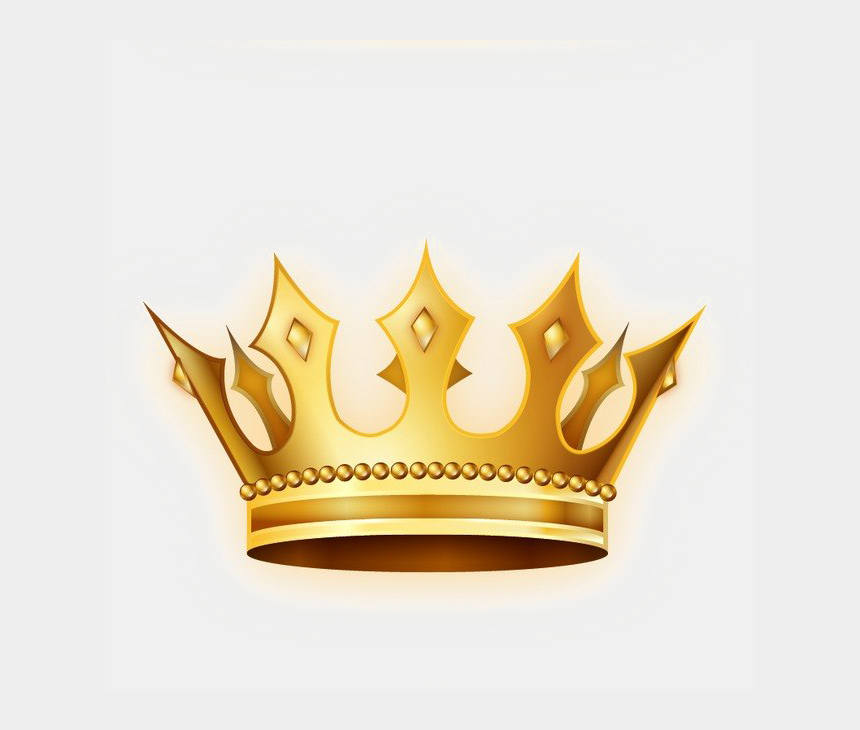 crown clip art free, Cartoons - Gold Crown Png