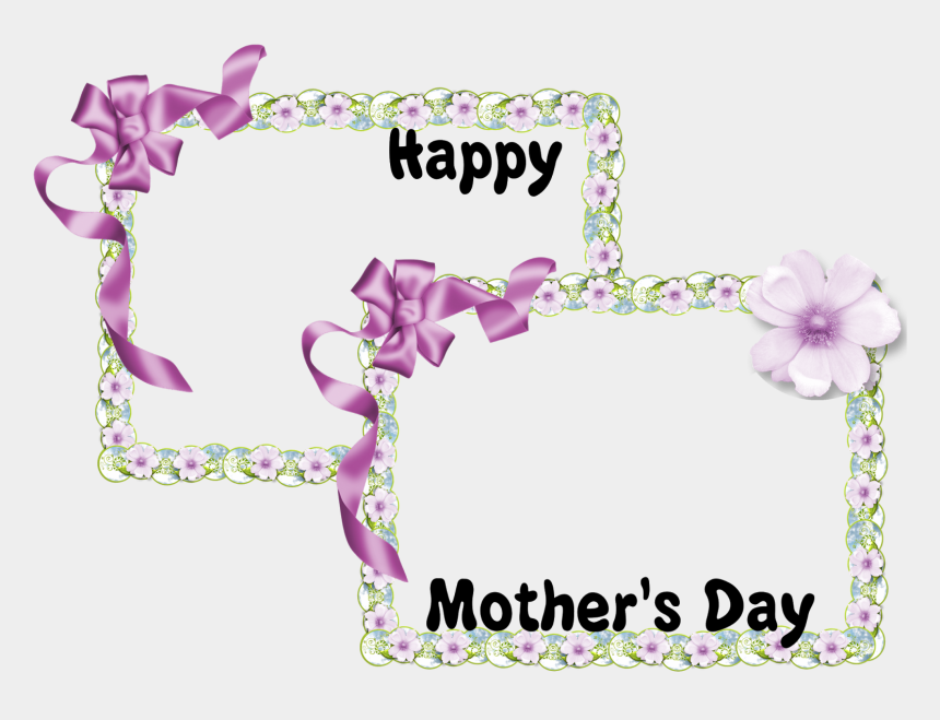 happy mother s day clipart, Cartoons - Happy Mothers Day Photo Framed