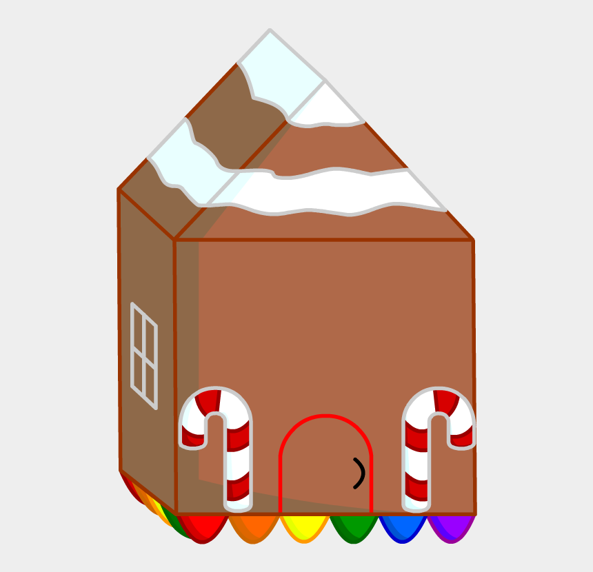 gingerbread house clip art, Cartoons - Clip Art