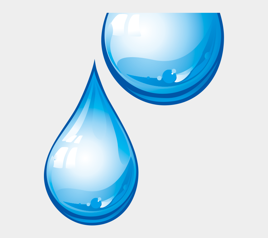 droplets of water clipart, Cartoons - Water Droplet Transparent Background