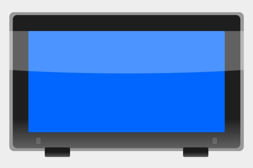 computer monitor old clipart, Cartoons - Flat Screen Tv Png Cartoon