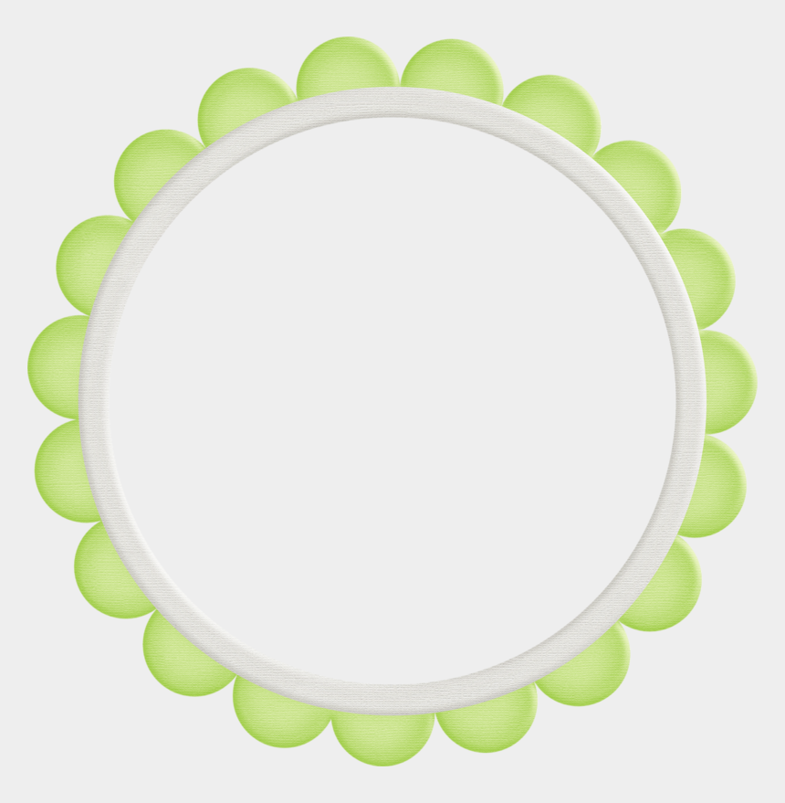 round frame clipart labels, Cartoons - Frames Scalloped