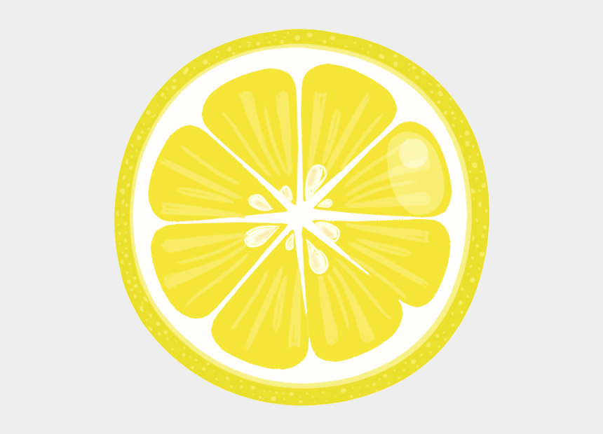 lemon slices clipart free, Cartoons - Lemon Slices Clip Art