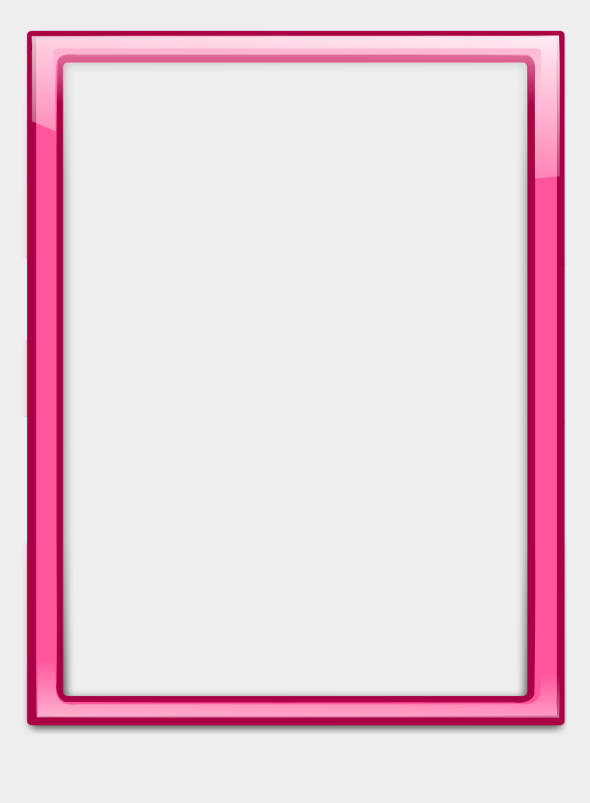 stained glass border clipart, Cartoons - Pink Frames And Borders Png