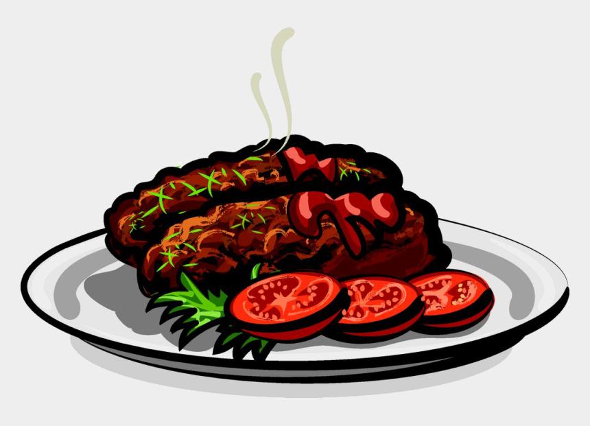 grilled chicken steak clipart, Cartoons - Cutlet
