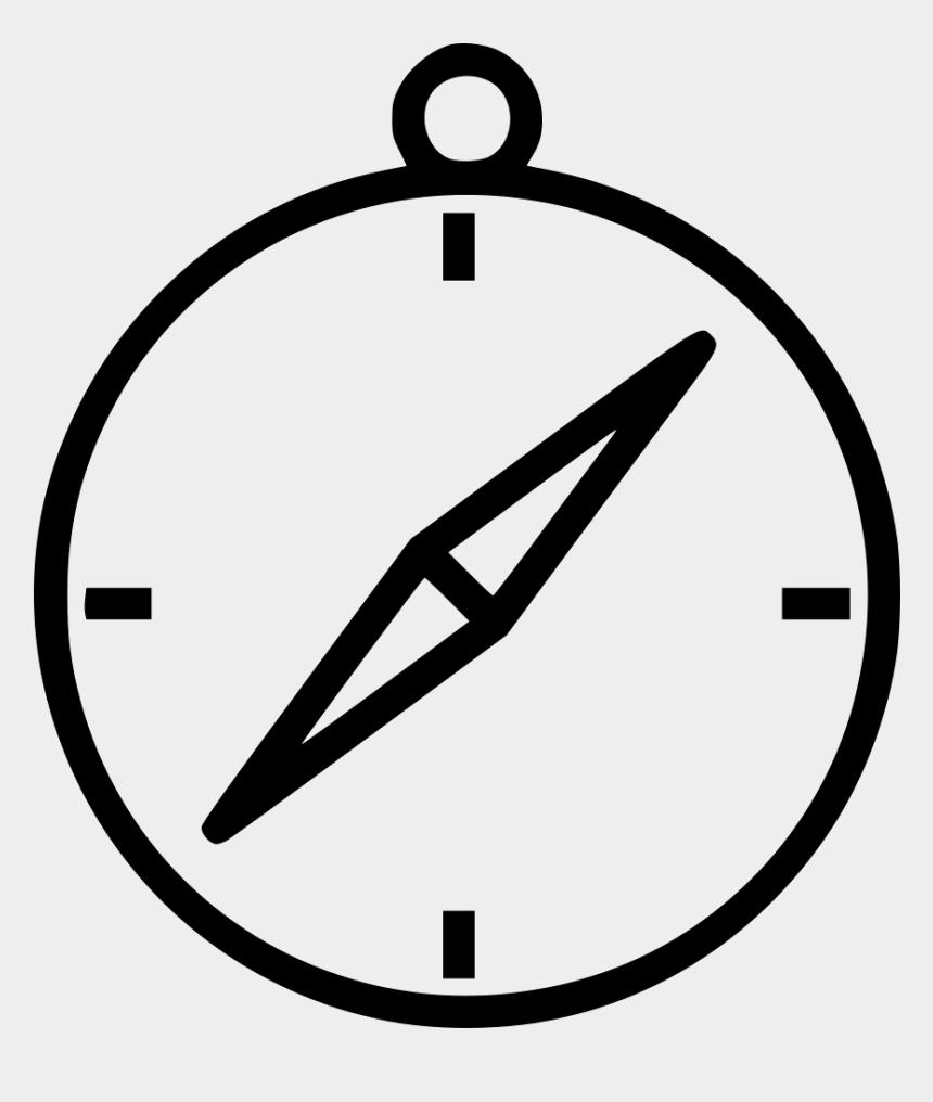 free compass points clipart, Cartoons - Safari Apple Line Icon