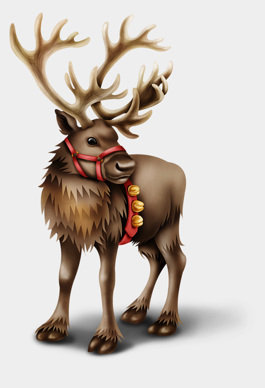peeking reindeer clipart, Cartoons - Country Christmas Clipart Moose
