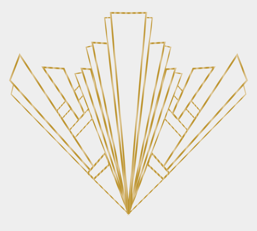 great gatsby clipart images, Cartoons - Art Deco Background Png