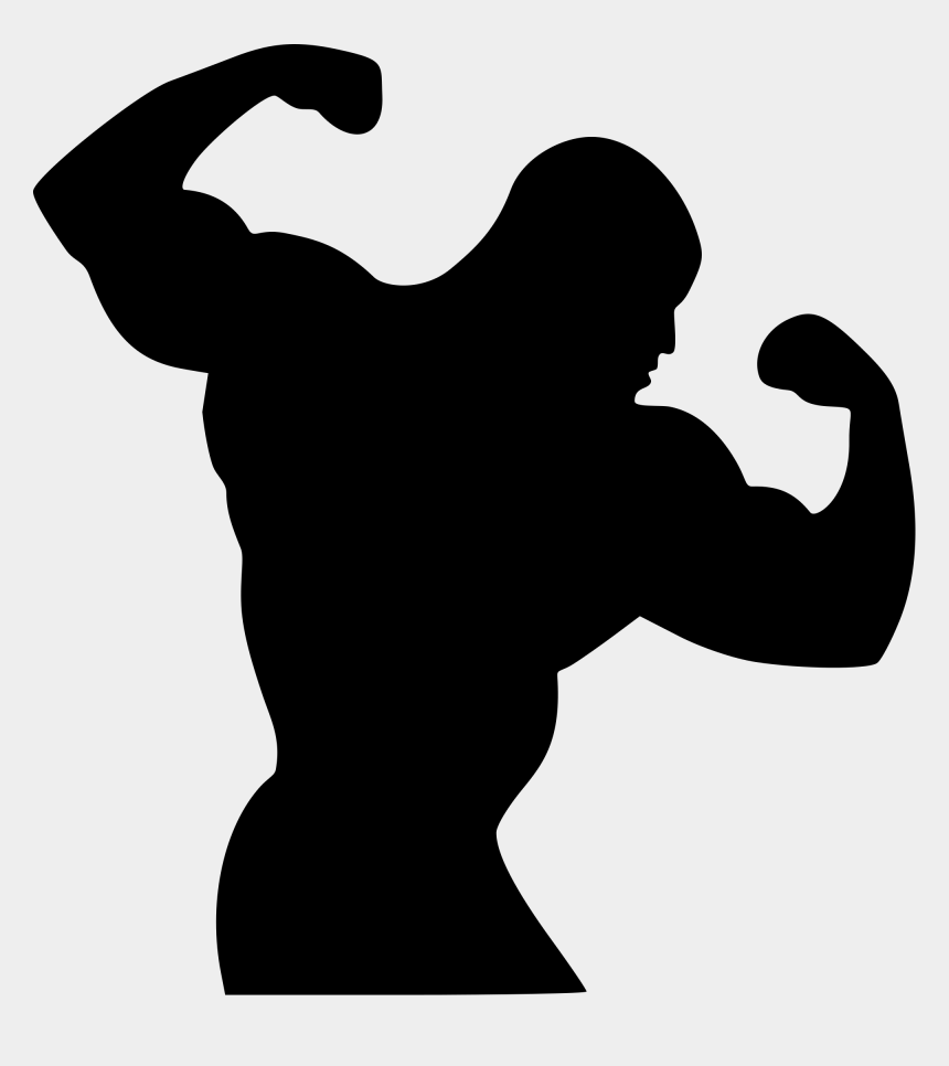 female bodybuilding clipart, Cartoons - Body Builder Clipart Png