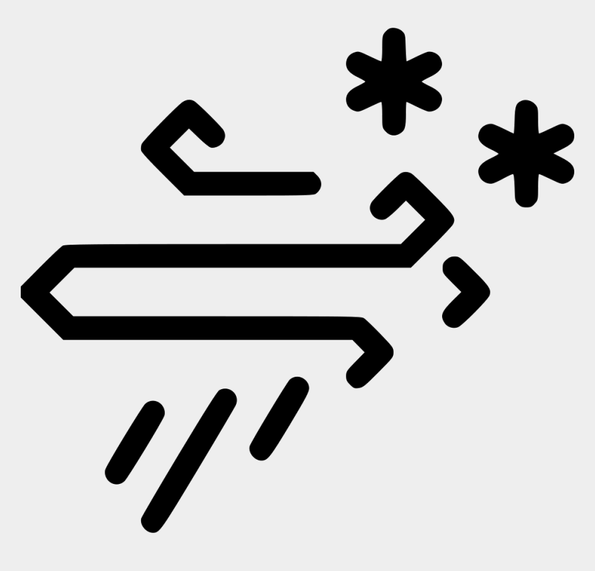 snow storm clipart free, Cartoons - Wind Snow And Rain Icon