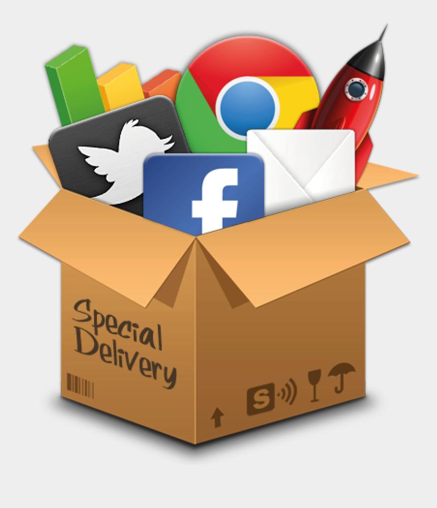 clipart social media icons free, Cartoons - Icon Digital Marketing Logo Png