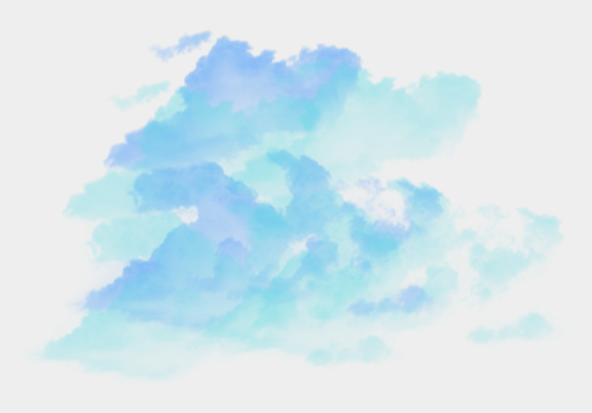 27+ Blue Clouds Png Cartoon Pictures