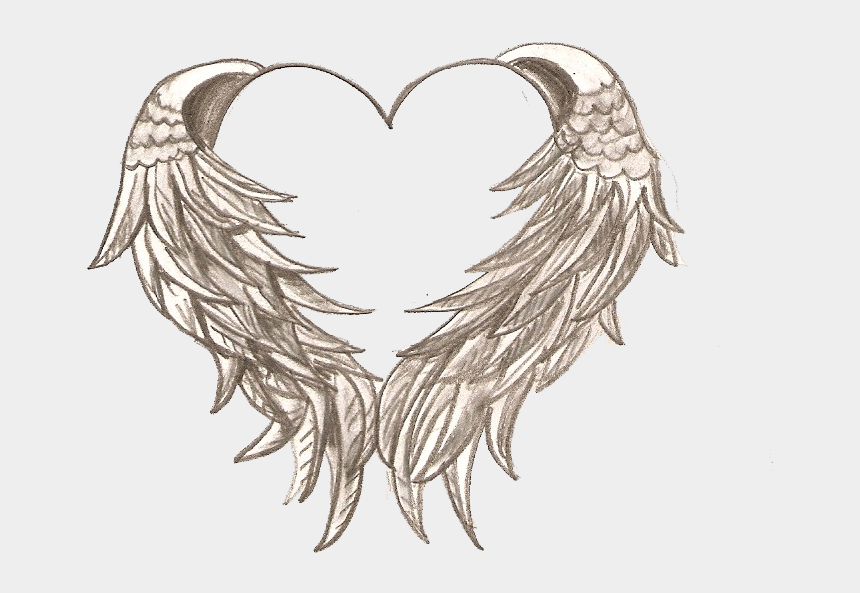 angels and demons clipart, Cartoons - Angel Wings And Halo Tattoo