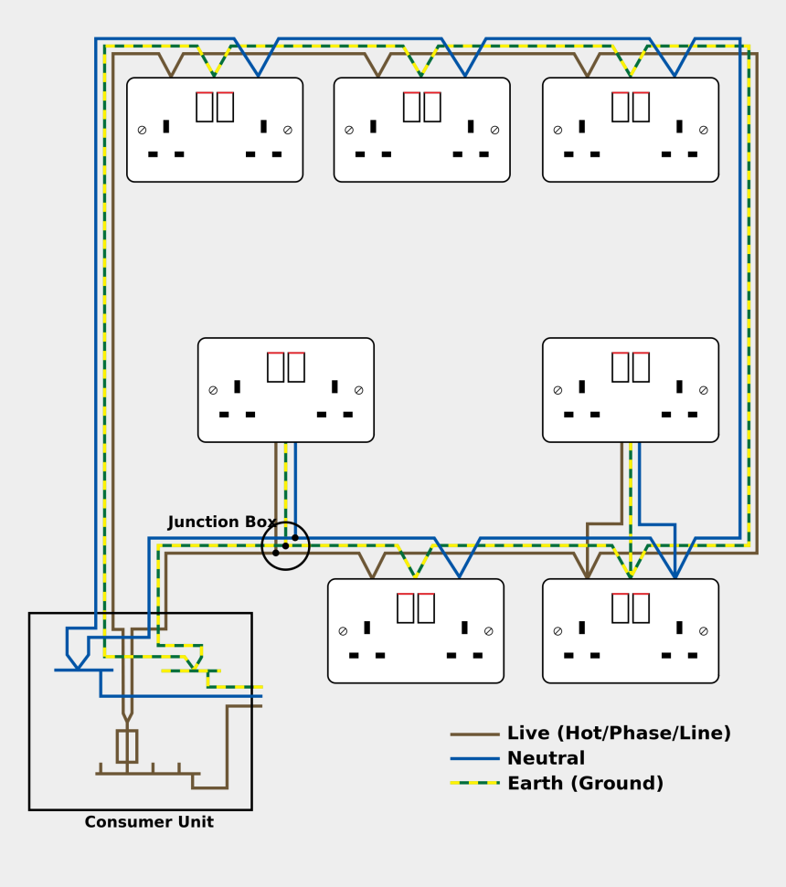 Electrical Circuit Diagram House Wiring from www.jing.fm