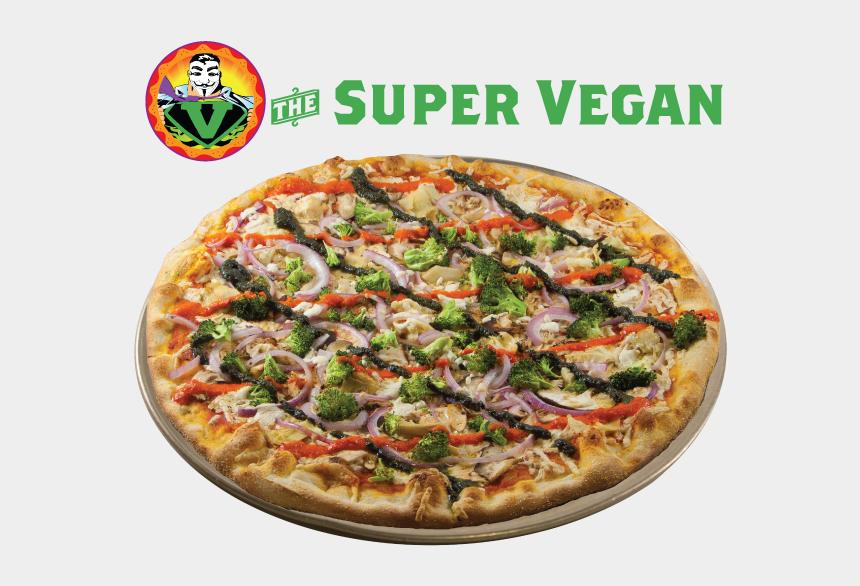 vegetarian pizza clipart, Cartoons - Two Boots Super Vegan Pizza
