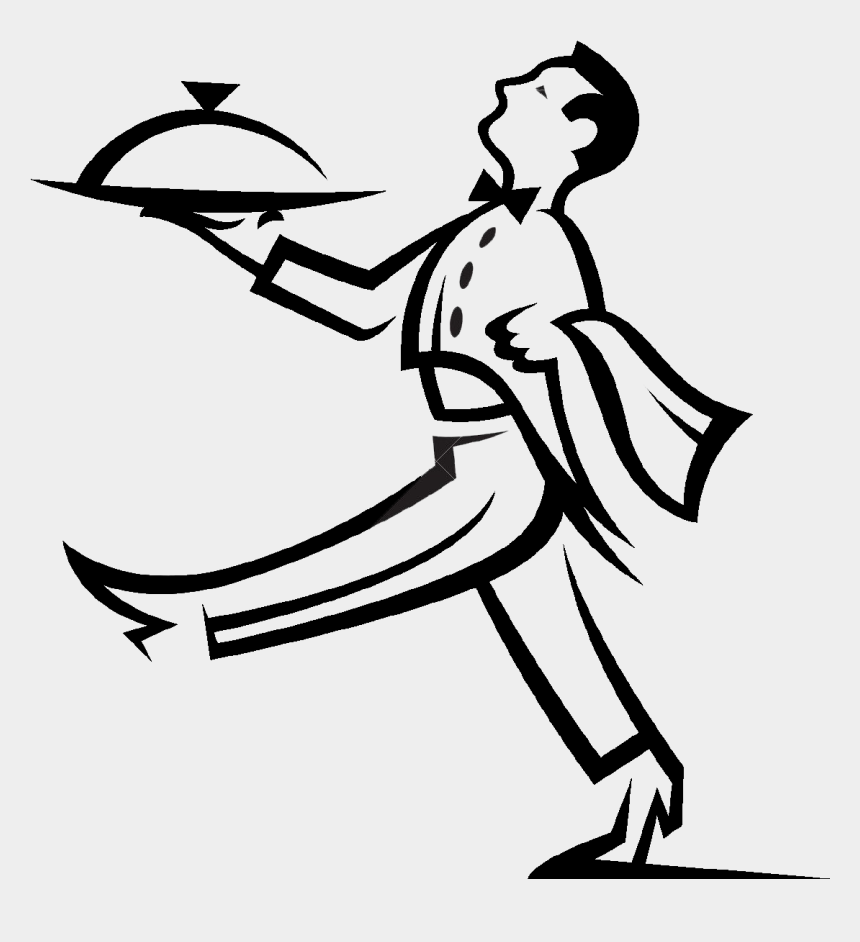 banquet server clip art, Cartoons - Creative Catering Business Logo
