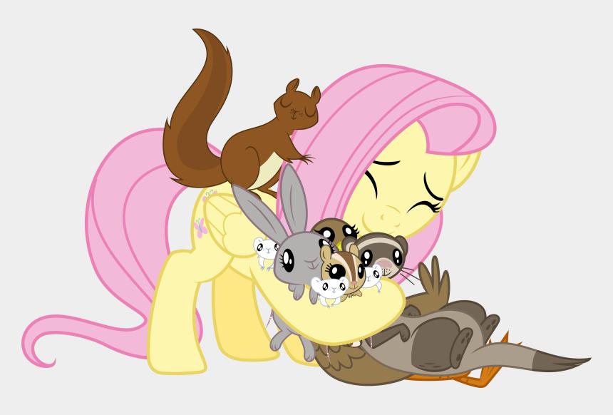 ferret picture clip art, Cartoons - My Little Pony Fluttershy Animals