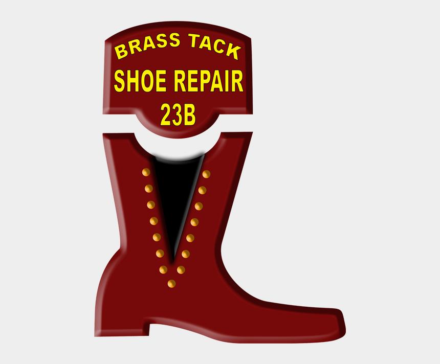 shoe shine clip art, Cartoons - Cowboy Boot