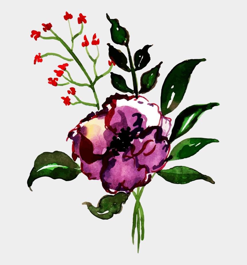 watercolor wildflower clip art, Cartoons - Imagens De Fundo Letra C