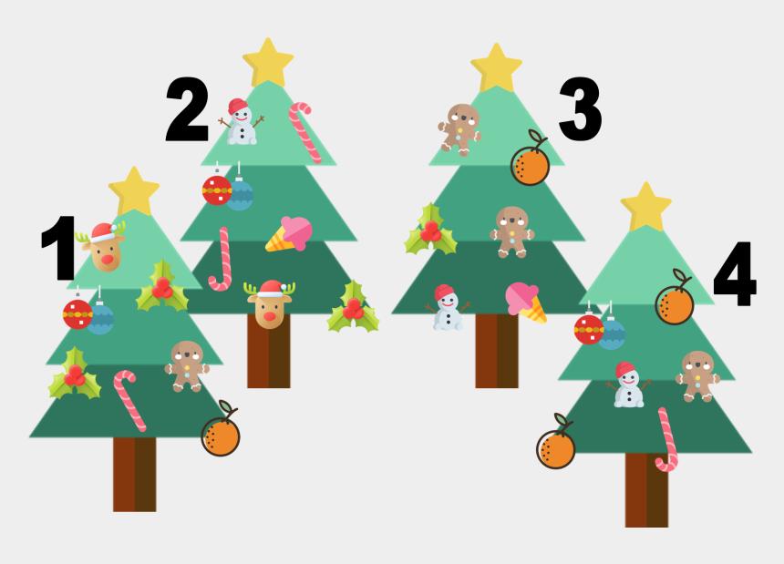 squiggle christmas tree clip art, Cartoons - Christmas Tree
